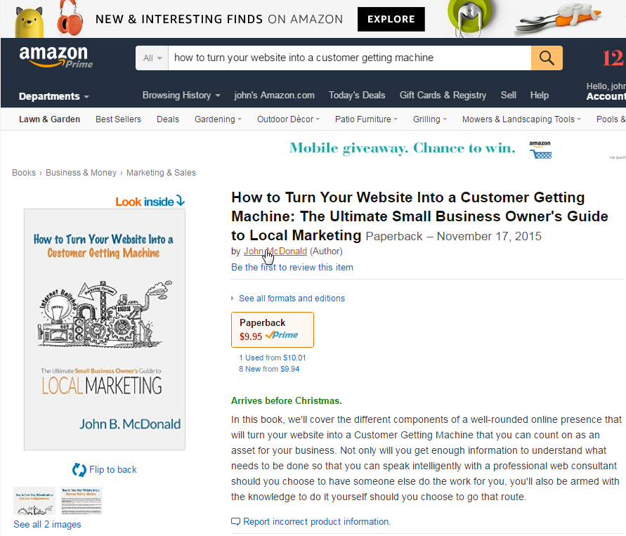 How to turn your website into a customer getting machine