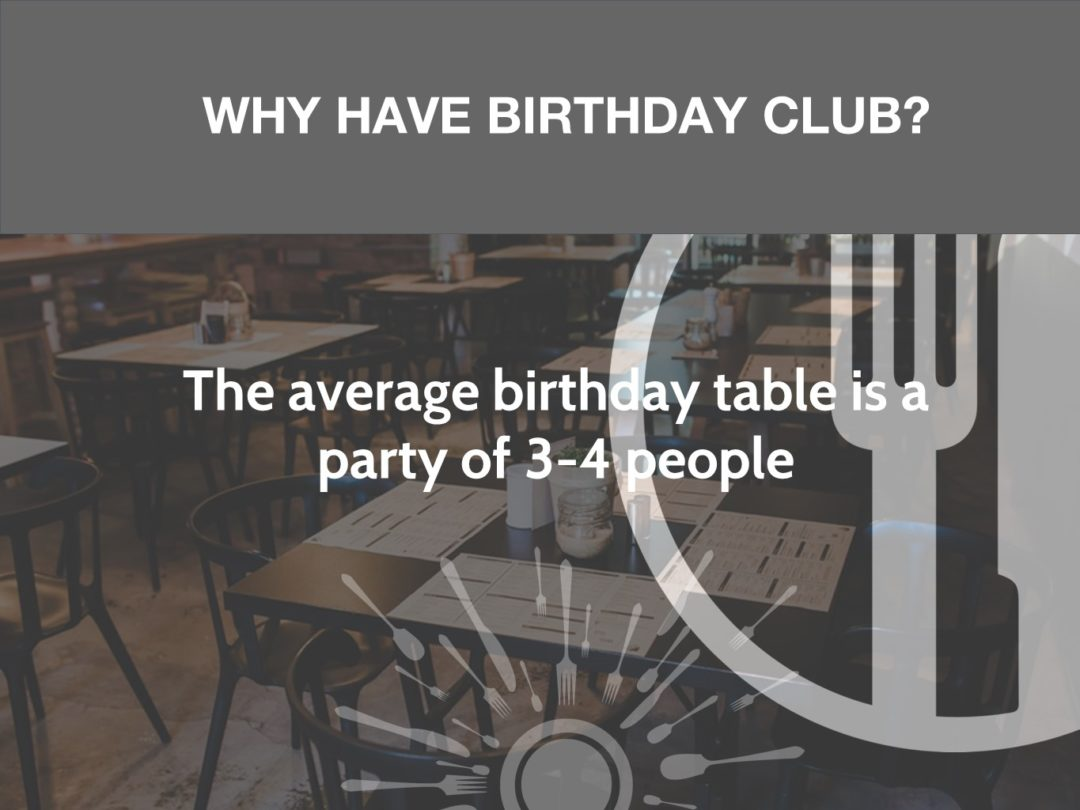 Why Have A Birthday Club?