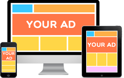 What are the available types of online advertising?